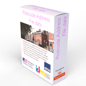 Postcode Address File PAF